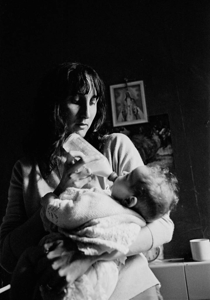 Mother and baby Salford 1971