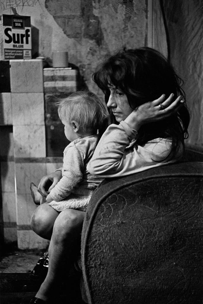 Mother and child Newcastle West End 1971