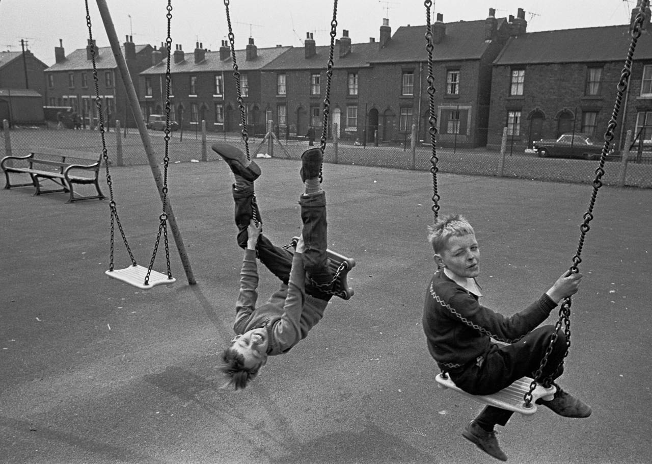 Sheffield playground 1969