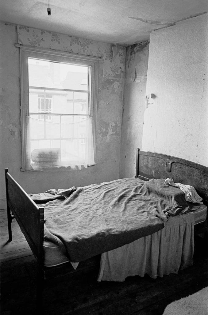 Slum bedroom Saltley 1971