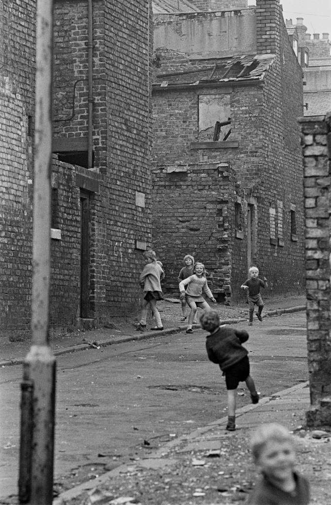 Street games Newcastle upon Tyne 1971