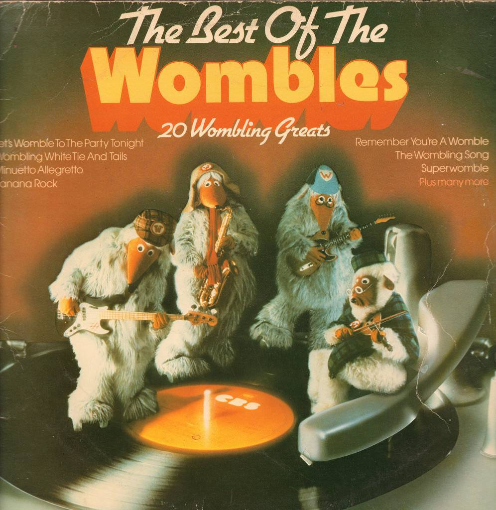 The Best of The Wombles - 20 Wombling Greats Released: 1975