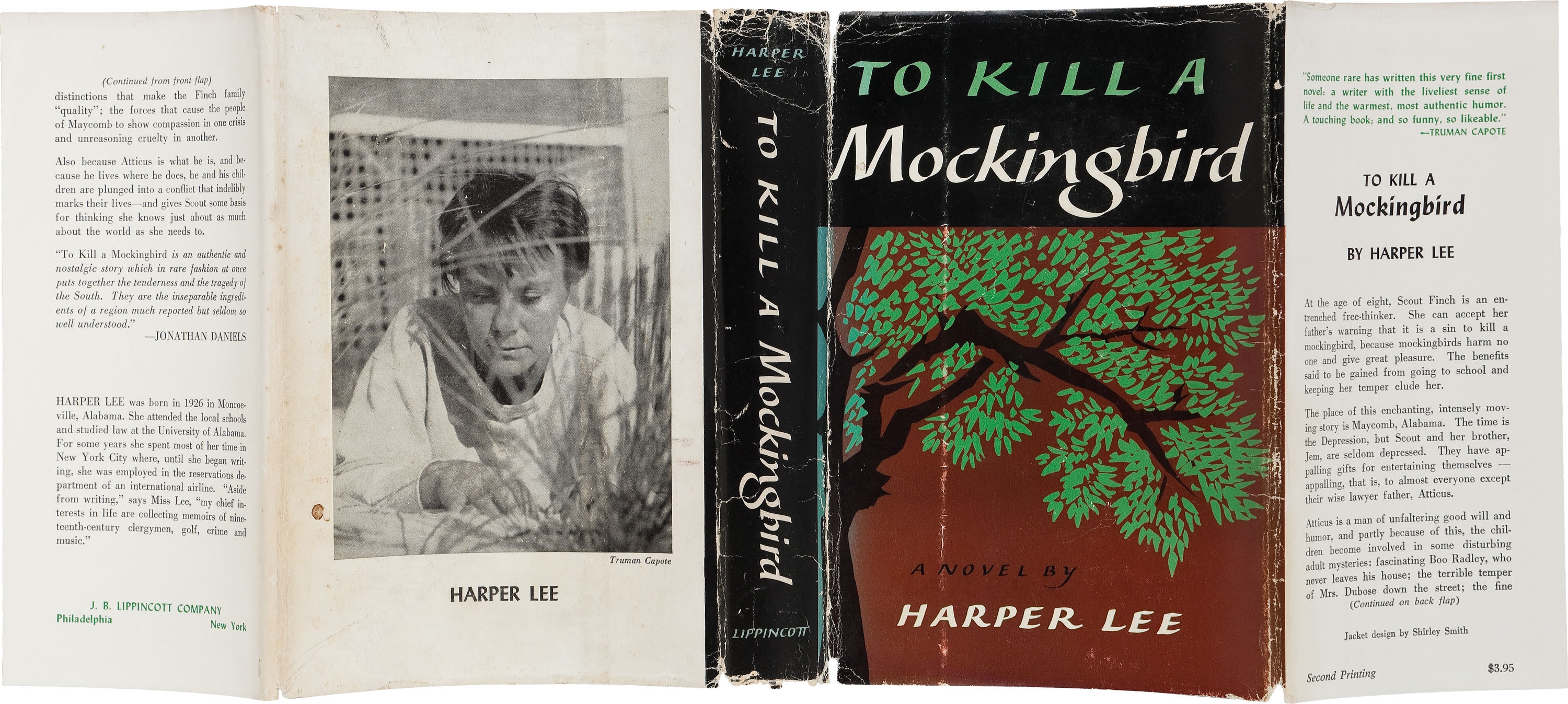 To Kill A Mockingbird first edition cover
