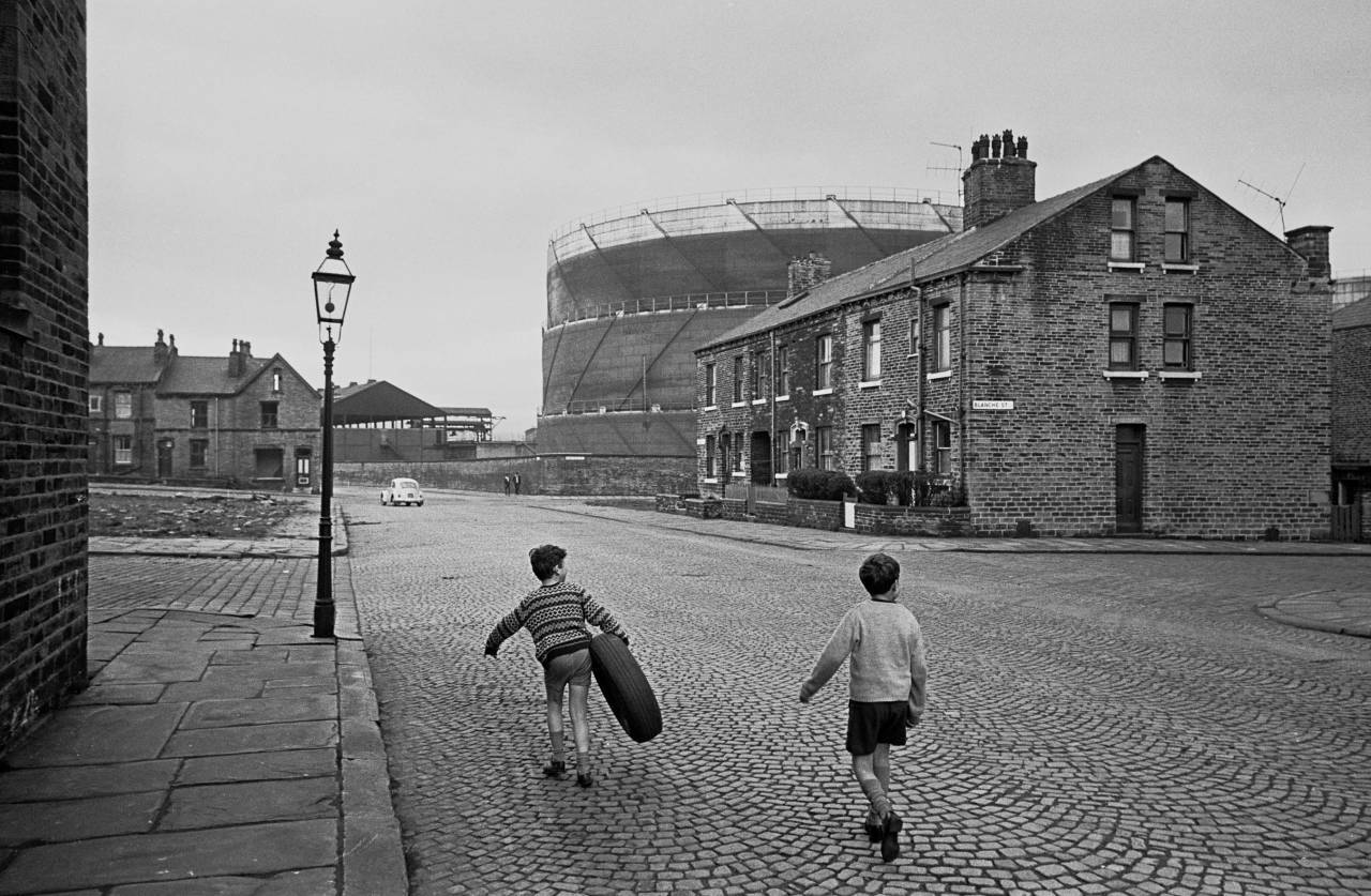 Trophy for the street game, Bradford 1969