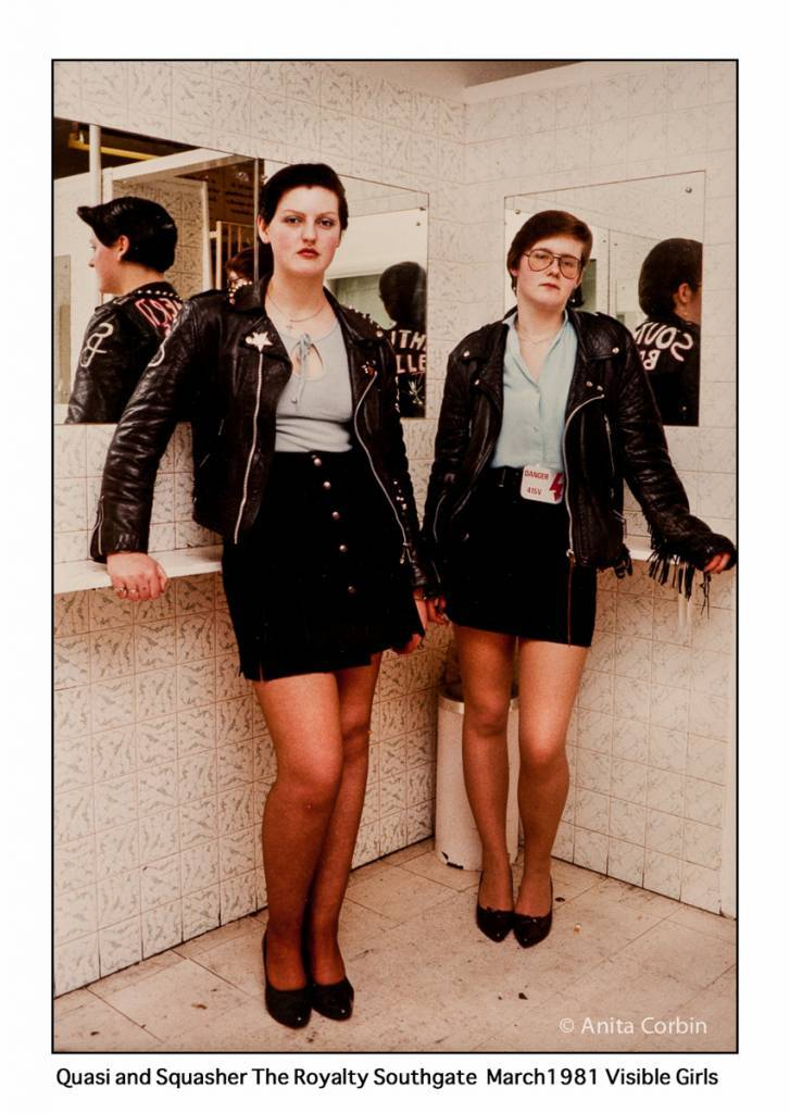Visible girls 1981 punk tribe mod skins