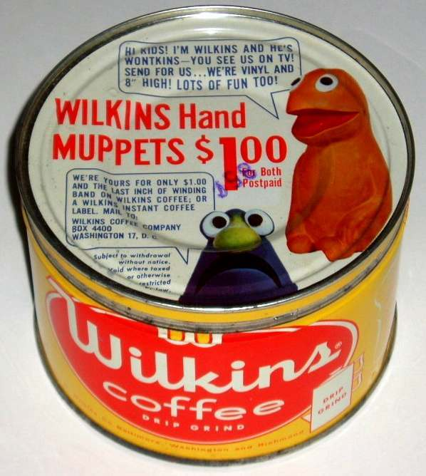 Jim Henson Wilkins coffee