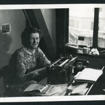 Typists in the New Zealand Liaison Office in Whitehall 1942