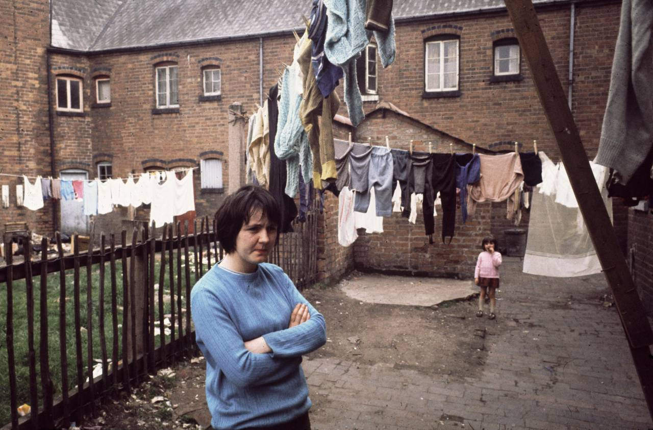 Backyard Winson Green, 1971