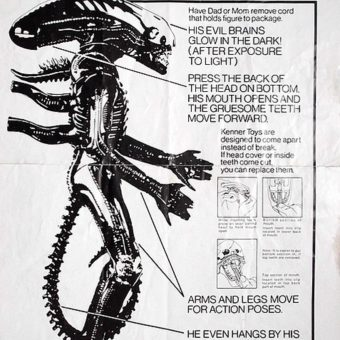 His Evil Brains Glow in the Dark: Remembering Kenner's Alien Figure (1979)