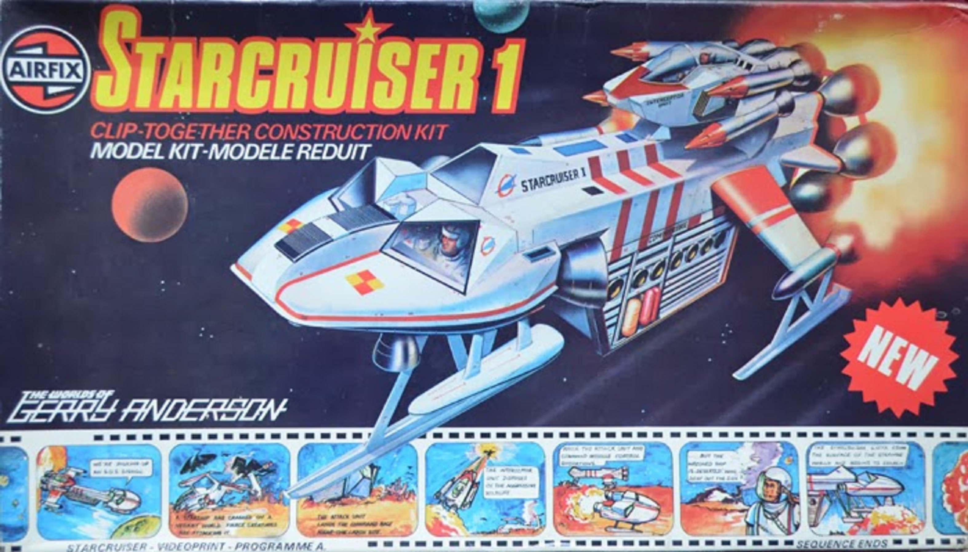 enact the story  gerry anderson u2019s starcruiser 1  1979