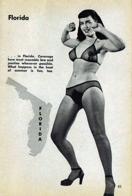 Striptease guide 1953 Bettie Page
