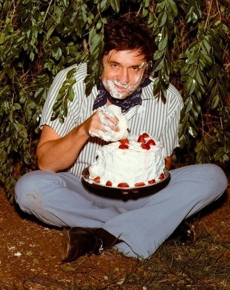 "Johnny ""J.R."" Cash (February 26, 1932 – September 12, 2003)"