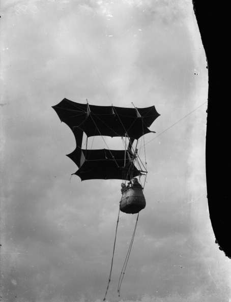 Aviation In Britain Before The First World War: The Work Of Samuel Franklin Cody In Airship, Kite And Aircraft Aeronautics 1903 - 1913, Demonstration of a two man kite designed by S F Cody for use by the British Army Royal Engineers Balloon Section. Such kites were intended for use when high wind speeds (above twenty miles an hour) prevented the use of observation balloons. The kite could ascend to heights of 2,500 feet in the right conditions, circa 1903.
