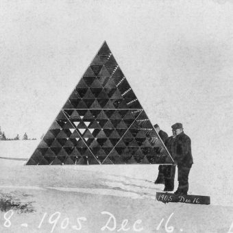 Alexander Grahm Bell's Space-Age Tetrahedral Kites