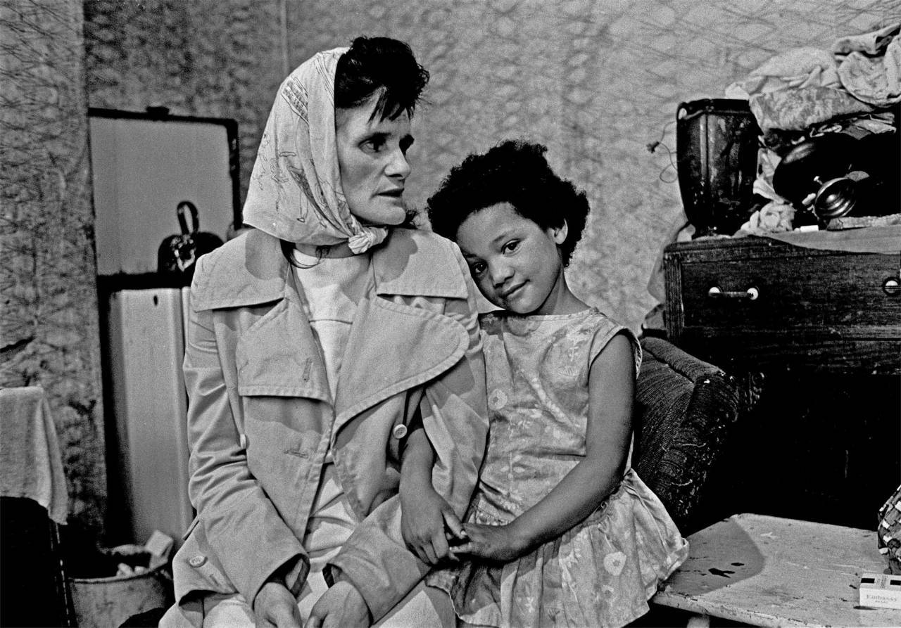 Mother and daughter Liverpool 8 1969