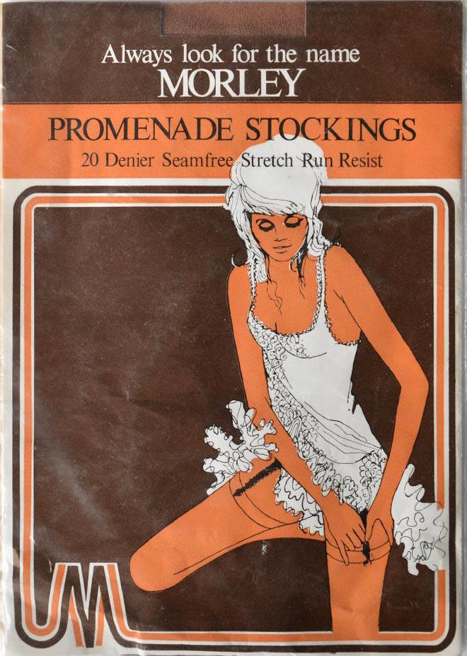 Morley Promenade Stockings ad c.1968.