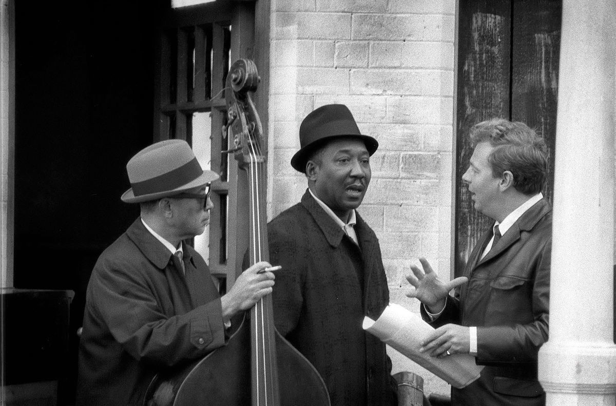 'Blues and Gospel Train' TV - 1964 - Muddy Waters with Johnnie Hamp