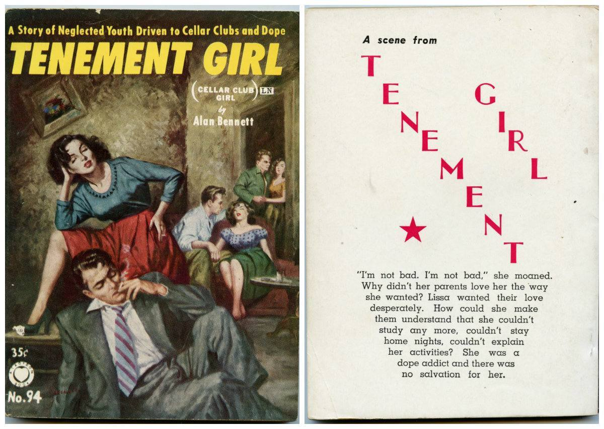 enement Girl written by Alan Bennett. Published by Croydon Publishing Company in 1955.