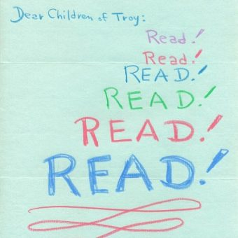 Dear Children of Troy: Leading Figures Write Letters On The Magic of Libraries (1971)