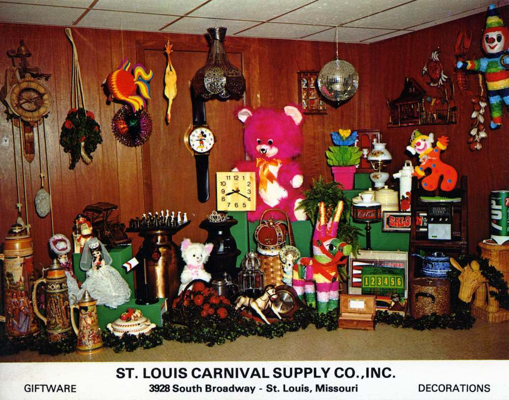 St Louis Carnival Supply Company_St Louis MO 3928 South Broadway about six blocks north of U.S. Highway 55 exit at 4500 South Broadway Across from Alexian Brothers Hospital