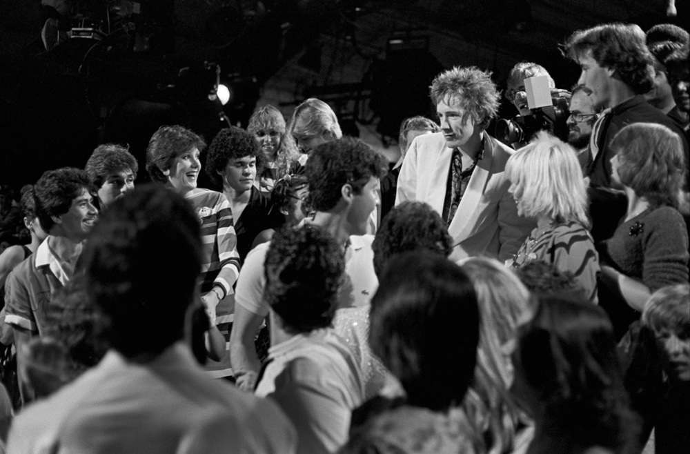 1980 photos of Public Image Ltd at American Bandstand 1000
