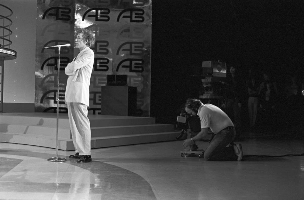 1980 photos of Public Image Ltd at American Bandstand 2