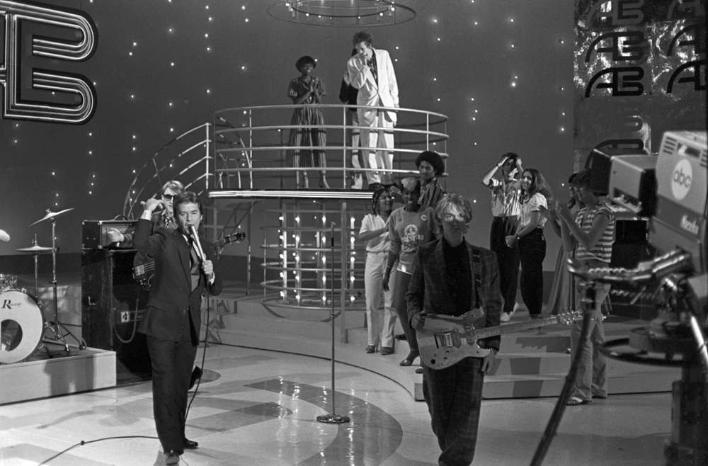 1980 photos of Public Image Ltd at American Bandstand 23