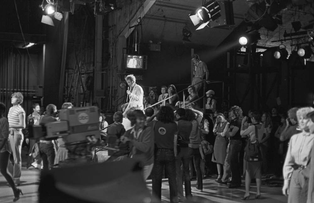 1980 photos of Public Image Ltd at American Bandstand 5