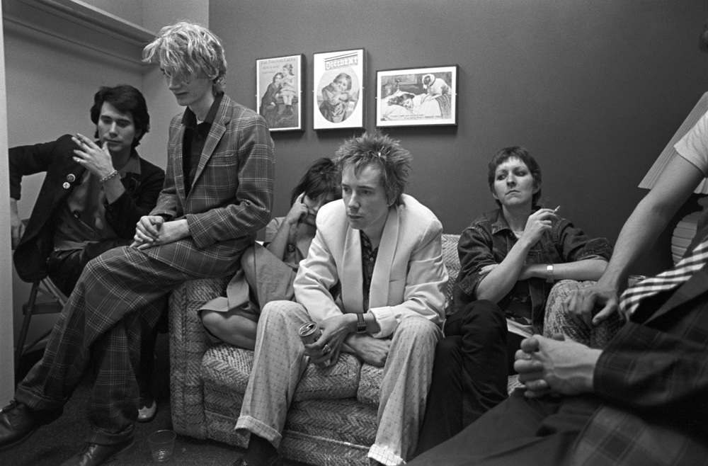 1980 photos of Public Image Ltd at American Bandstand