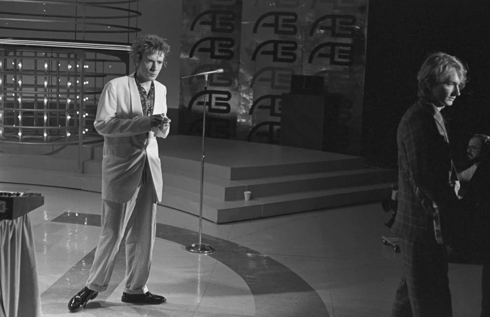 1980 photos of Public Image Ltd at American Bandstand 8787