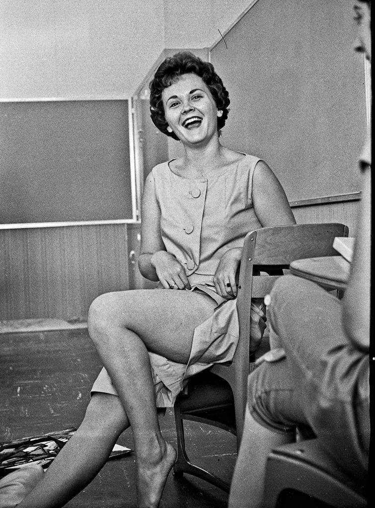 English Class Roosevelt High School Fresno in 1961 Debbie was a great gal and a casual friend with whom I shared at least a couple of classes.