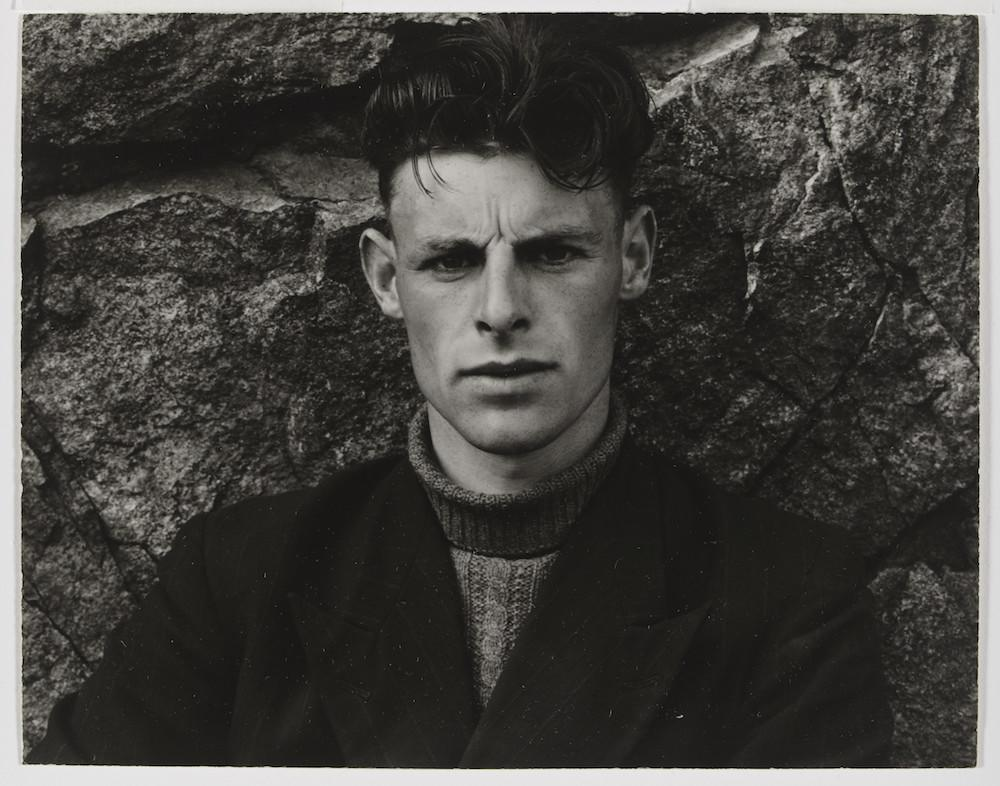 Photograph Angus Peter MacIntyre, South Uist, Hebrides; Photograph by Paul Strand, 'Angus Peter MacIntyre, South Uist, Hebrides', 1954, gelatin silver print Paul Strand (1890-1976) Hebrides 1954