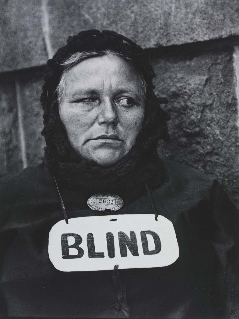 PH.372-1982 Photograph 20thC; Strand Paul, Blind woman, New York, 1916 1916
