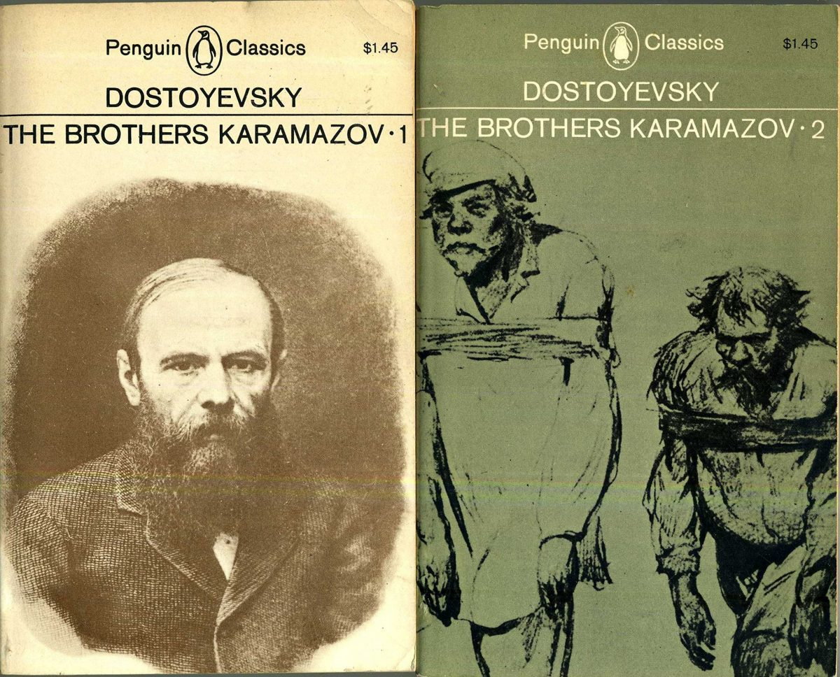 Brothers Karamazov Penguin 1 and 2