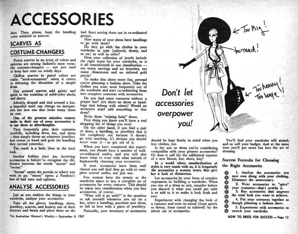 How To Dress For Success 1967 10