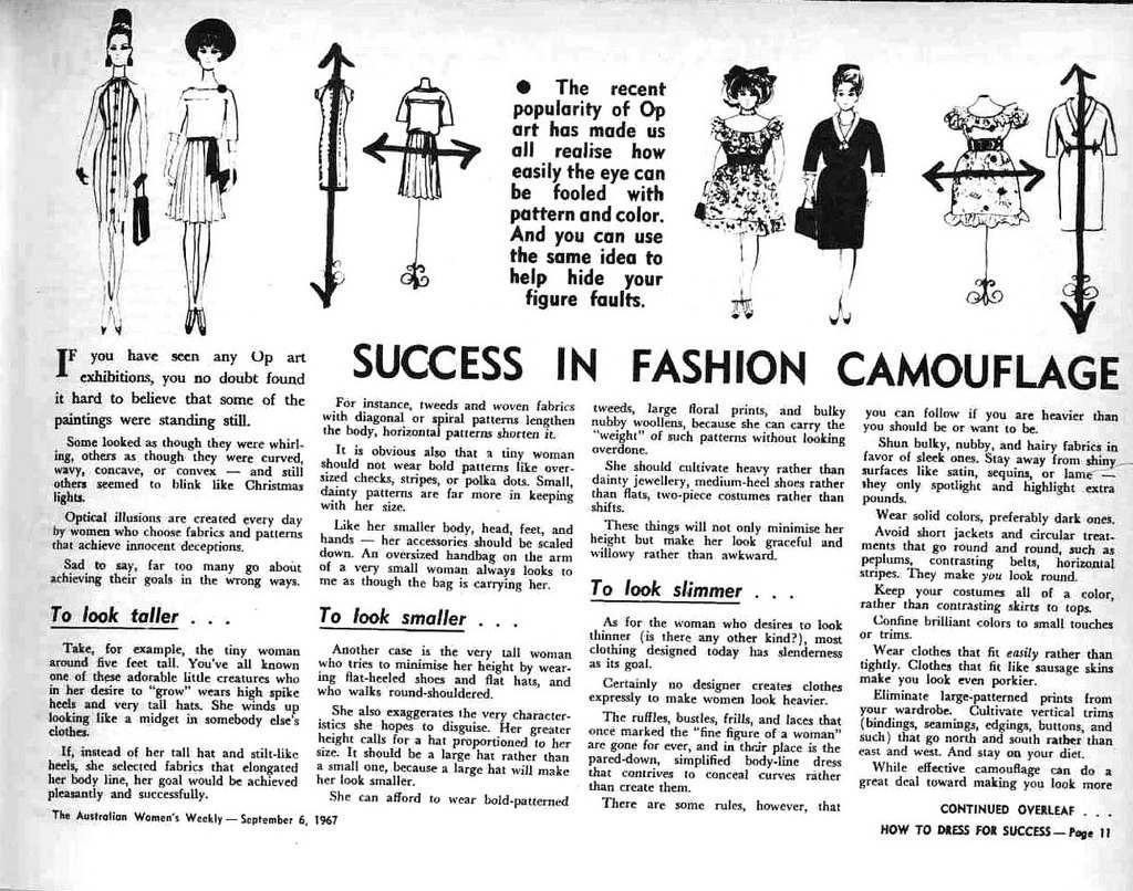 How To Dress For Success 1967 8