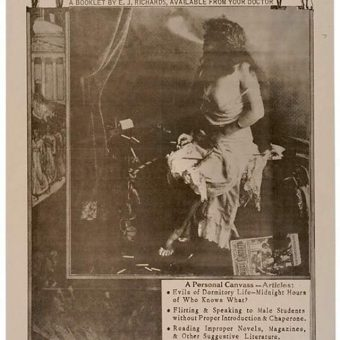 Is College Bad For Girls: A 1905 Pamphlet Available From Your Doctor