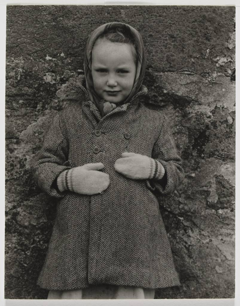 Photograph Katie Margaret MacKenzie, South Uist, Hebrides; Photograph by Paul Strand, 'Katie Margaret MacKenzie, South Uist, Hebrides', 1954, gelatin silver print Paul Strand (1890-1976) Hebrides 1954