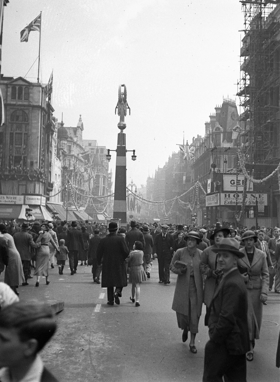London Oxford Street 1935 Jubilee