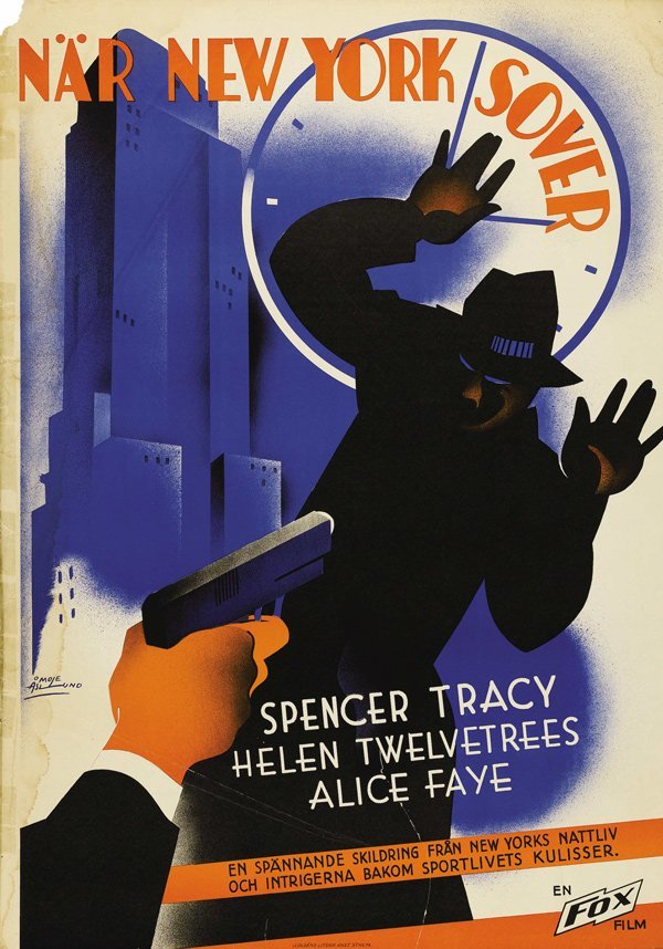 Now I'll Tell (Fox, 1934)  artist- Aslund