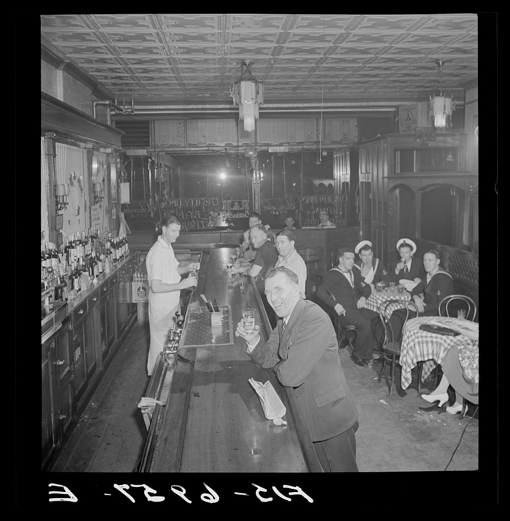 O'Reilly's Bar on Third Avenue Marjory Collins