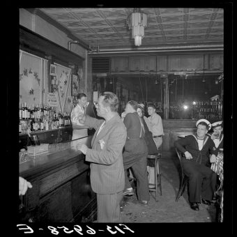A Night at O'Reilly's Bar in New York in 1942