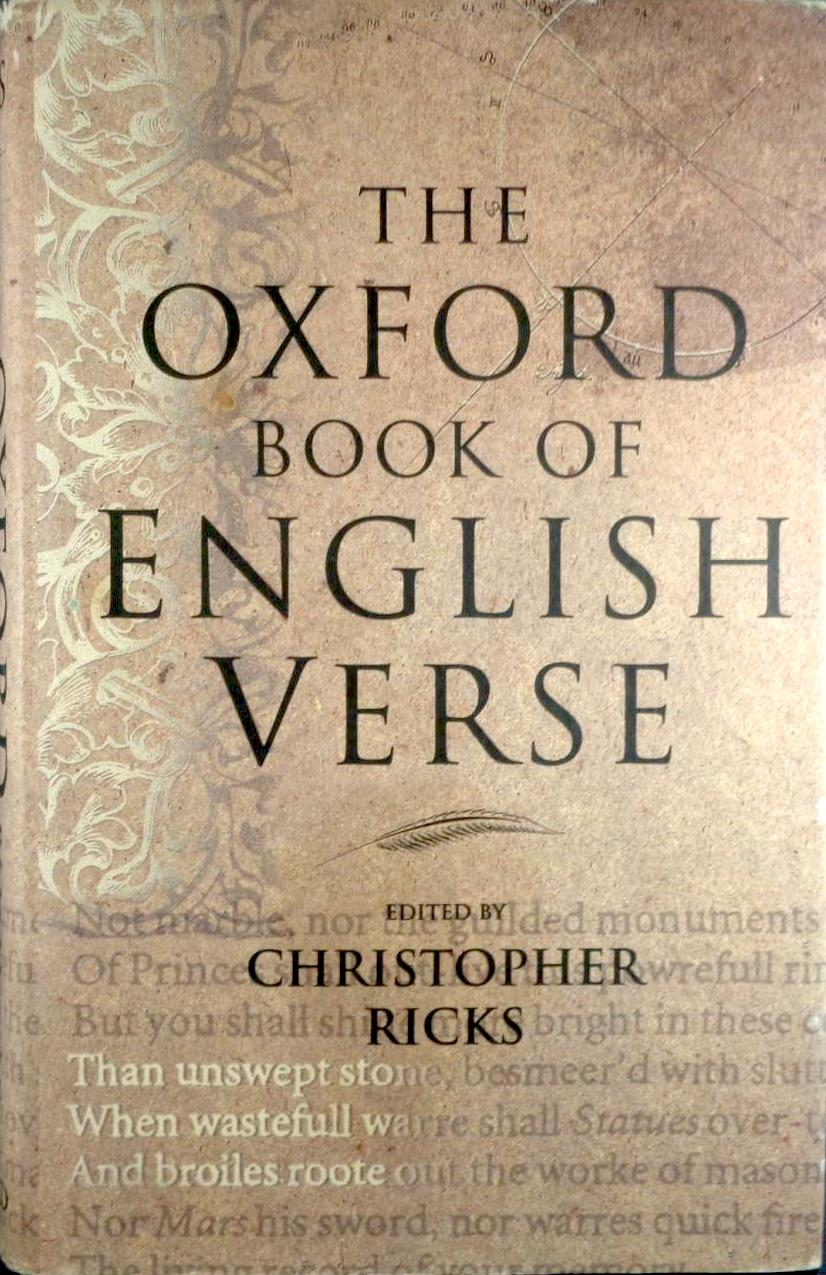 Oxford Book of English Verse