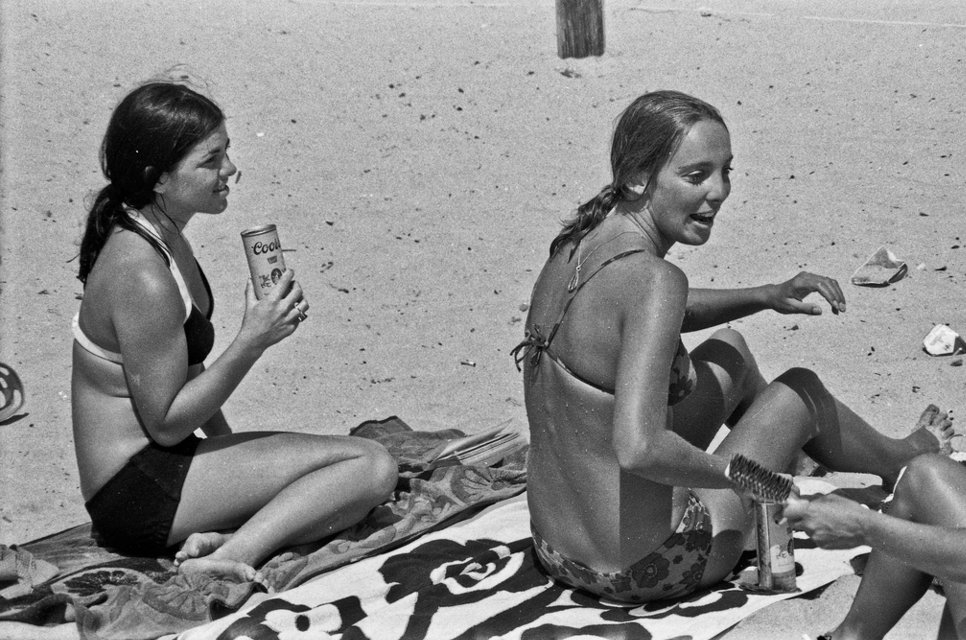 Mission Beach San Diego August 1970 At loose ends after my discharge from the U.S.Army I wondered around California for about 4 months before I finally landed a civilian job. I ended up at my cousin's place in Mission Beach for a week or so during that time.