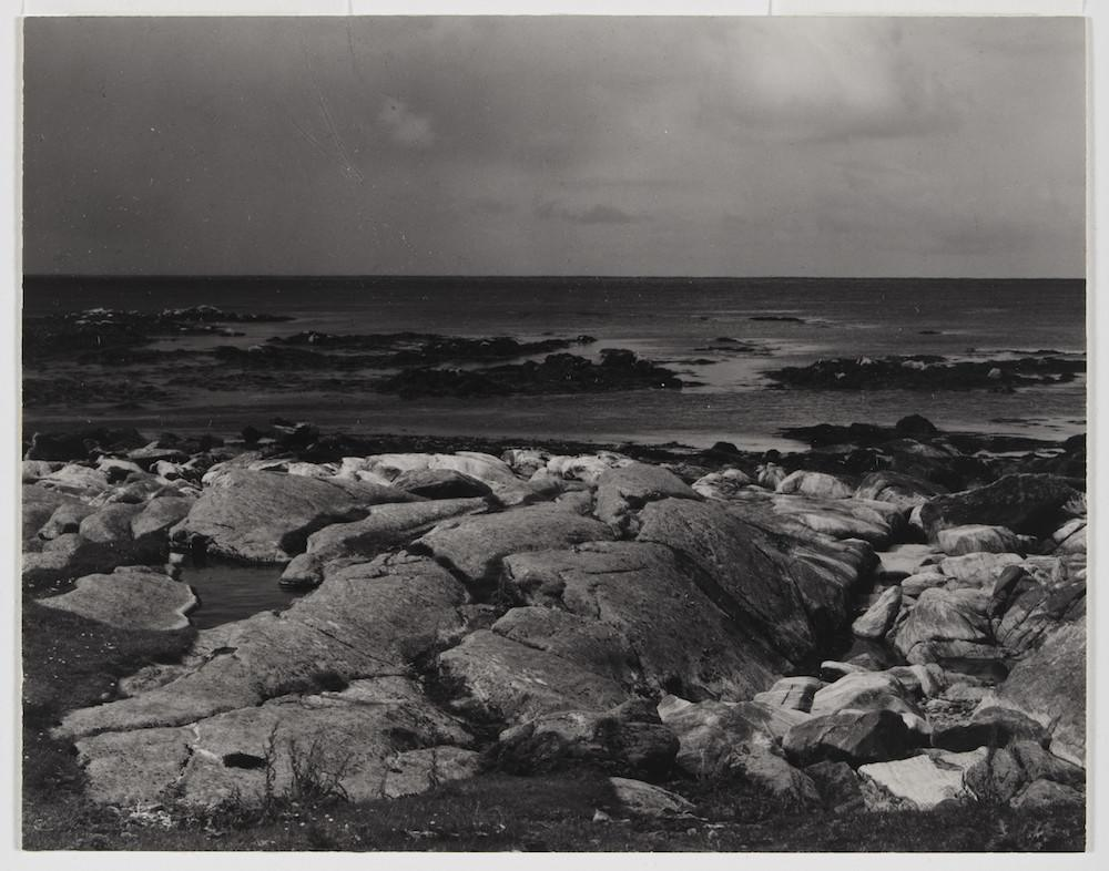 Photograph Sea Rocks and Sea, The Atlantic, South Uist, Hebrides; Photograph by Paul Strand, 'Sea Rocks and Sea, The Atlantic, South Uist, Hebrides', 1954, gelatin silver print Paul Strand (1890-1976) Hebrides 1954