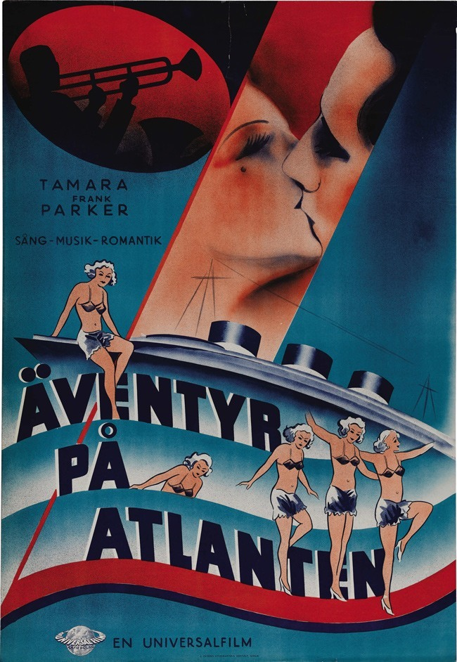 Swedish Hollywood posters
