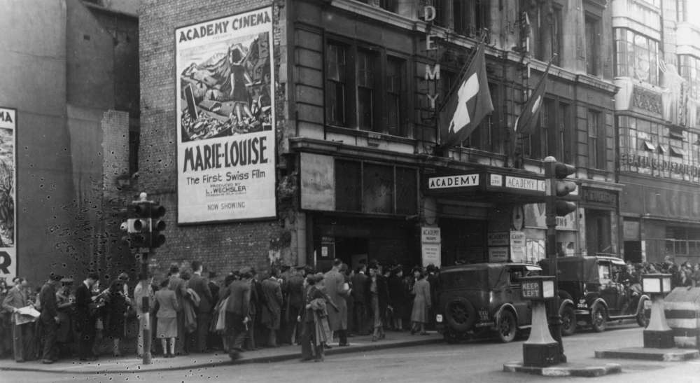 The Academy Cinema in Oxford Street 1945