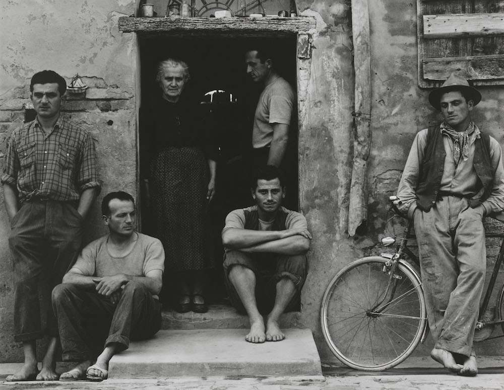 The Family, Luzzara (The Lusettis) 1953 (negative); mid- to late 1960s (print) Paul Strand 1 MB © Paul Strand Archive, Aperture Foundation