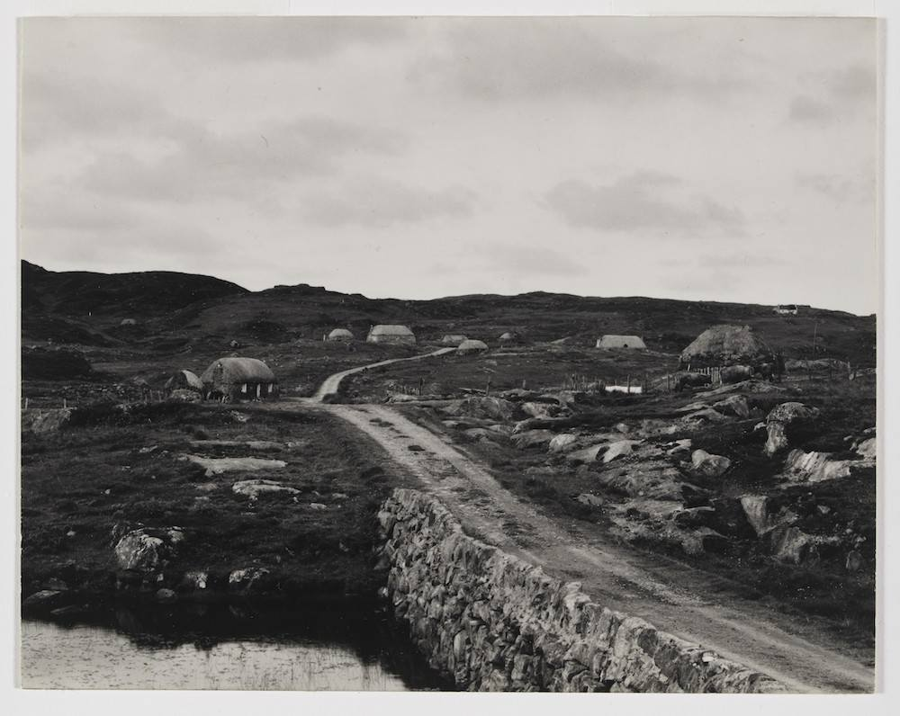 Photograph The Road, South Lochboisdale, South Uist, Hebrides; Photograph by Paul Strand, 'The Road, South Lochboisdale, South Uist, Hebrides', 1954, gelatin silver print Paul Strand (1890-1976) Hebrides 1954