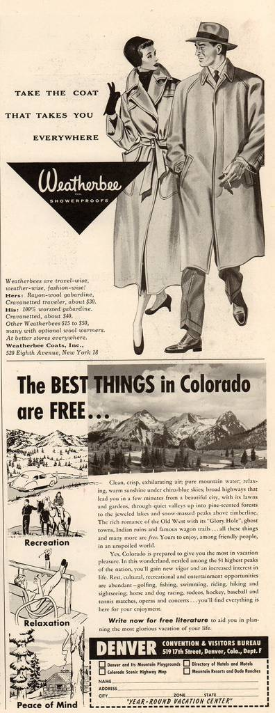 Travel Ads 1950 12